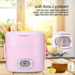 1.5L Electric Heating Lunch Box Portable Warmer Food Heater