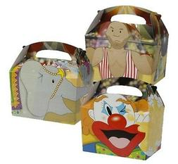 10 Childrens Kids Circus Elephant Food Loot Picnic Birthday