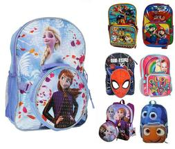 "16"" Teens Girls Boys Large School Backpack Book Bag with Det"