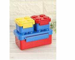 1ea+ Mini 2ea Block Lunch Box for Kids  Food Storage Brick L