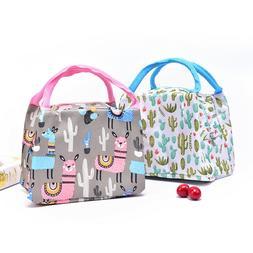 1Pc New Portable Lunch Bag For Women Cooler Bag Kids Men Ins