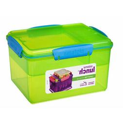 Sistema 2.3L Lunch Tub Box Storage Container with Multi Comp