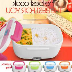 2 In 1 Portable Electric Heated US/EU Heating Lunch Box Bent
