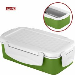 24 Oz Leak Proof Vacuum Lunch Box Jar Food Container Hot Col