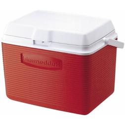 Rubbermaid 24 Quart Classic Red Victory Personal Cooler  FG2