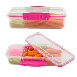 2pk Sistema Lunch Box Meal Prep Containers Lunch Boxes For K