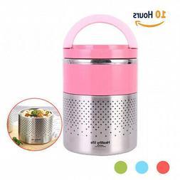 - HOMESPON Vacuum Lunch Box Stainless Steel Food Jar 2 Tier
