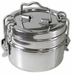 3 Piece Stainless Steel Lunchbox  - UT72-TIFFIN