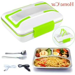 304 Stainless Steel Electric Heating Lunch Box Food Heater B