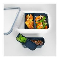 IKEA 365+ Lunch box with inserts Rectangular  MICROWAVE REA