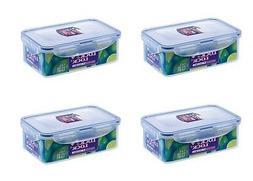 4 x LOCK n LOCK & PLASTIC FOOD STORAGE LUNCH BOX CONTAINER 1