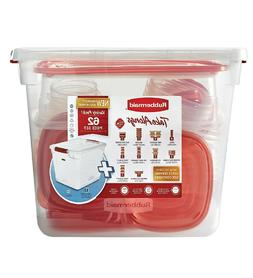 62 pc takealongs food storage container set