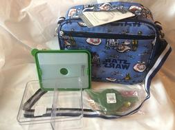 $69 Pottery Barn STAR WARS LUNCH BOX + FOOD THERMOS  + ICE P