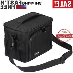 8.5L Insulated Lunch Bag Large Lunch Box with Strap Cooler B