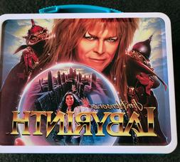 80s VINTAGE  Labyrinth Lunch Box David Bowie Jim Henson Movi