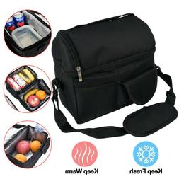 Insulated Lunch Bag 8LFood Lunch Box Men Women Travel Hot Co