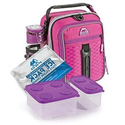 Arctic Zone High-Performance Dual-Compartment Lunch Box Set,