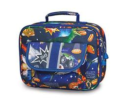 Bixbee Kids Insulated Lunchbox Meme Space Odyssey, Blue FREE