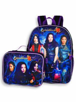 Disney Descendants 3 School Backpack With Lunch Box - 2 Piec