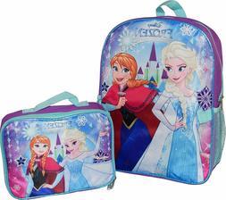 Frozen Disney Elsa Anna Girls Kids Cartoon School Backpack B