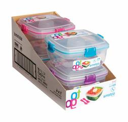 Sistema To Go Collection Salad Food Storage Container, 37 oz