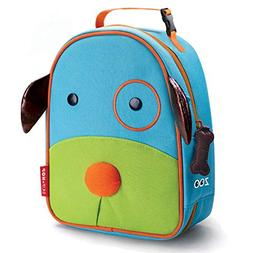 Skip Hop Zoo Kids Insulated Lunch Box, Darby Dog, Blue