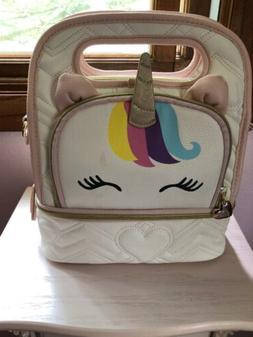 Adorable Betsey Johnson LUNCH BOX  Bag UNICORN Tote Bag Insu