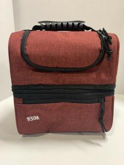 MIER Adult Lunch Box Insulated Lunch Bag Large Cooler Tote B