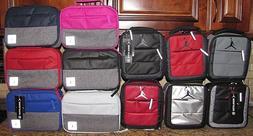 Air Jordan Lunch Box Bag & Pivot Black Red Gray Silver Blue
