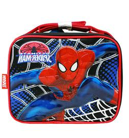 Marvel Amazing Spiderman Lunch Bag For Boys/Girls Kids Color