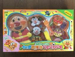 Anpanman Bento Lunch Box Set Japan Pretend Play Toy Volume p