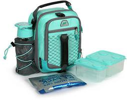 Arctic Zone High-Performance Dual-Compartment Lunch Box- Fre