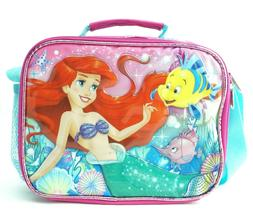 Disney Ariel Lunch Box Bag with Shoulder Strap Insulated Pin