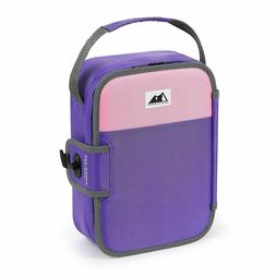 Artic Zone Zipperless Insulated Lunch Box Pink Purple