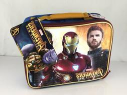 Avengers Soft Thermos Lunch Box Kit Kids Boys Storage School