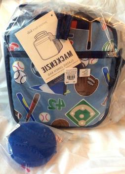 ICE pack school varsity sports football soccer Pottery Barn BASEBALL LUNCH BOX