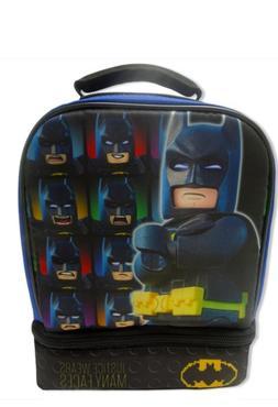 Batman Lego Duel Compartment Lunch Box With Detachable  Cape