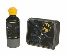 LEGO Batman Lunch Set, Lunch Box and Drinking Bottle - Black