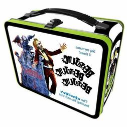 Beetlejuice NEW * Metal Lunchbox Tote * Comedy Tin Lunch Box
