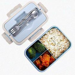 Bento Boxes for Kids Adults 1000ml Lunch Boxes Container for