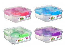 Sistema Bento Cube To Go1.25Ltr Healthy Eating Work School L