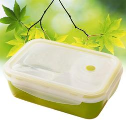 Bento Lunch Box Adults Kids 4 Compartments Leakproof Contain