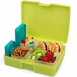 Bentology Bento Lunch Box with 5 Removable Containers – In