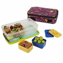 Bento 6 Piece Lunch Box Set