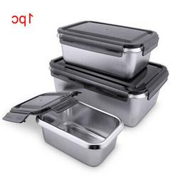 Bento Storage Container Food Preservation Lunch Box Stainles