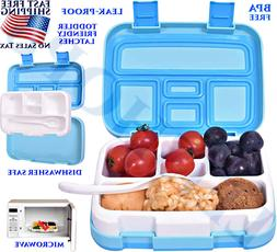 BEST LUNCH BOX KIDS LEAK-PROOF 5 COMPARTMENTS FOR SCHOOL BEN