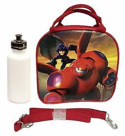 Disney Big Hero 6 Lunch Box Carry Bag w/ Shoulder Strap & Wa