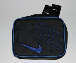 Brand New Kids Boys Girls Black & Blue NIKE Lunch Box Bag