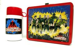 Thermos Brand Small Soldiers Metal Lunch Box with Roughneck
