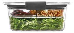 Rubbermaid Brilliance Food Storage Salad Container, Medium D
